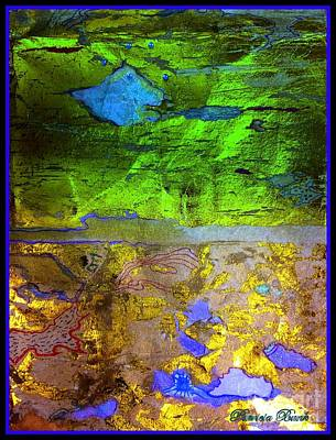 Mixed Media - Eastern Horizons  by Patricia Bunk