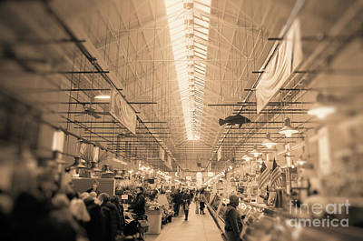 Photograph - Eastern Market  by John S