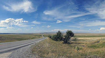 Photograph - Eastern Montana Highway by Mick Anderson
