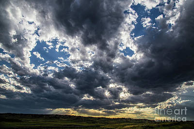 Photograph - Eastern Montana Sky by Shevin Childers