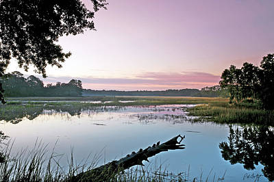 Lowcountry Marshes Photograph - Eastern Morning by Phill Doherty
