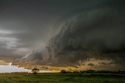 Eastern Nebraska Moderate Risk Chase Day Part 2 004 Art Print