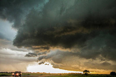 Photograph - Eastern Nebraska Moderate Risk Chase Day Part 2 009 by NebraskaSC