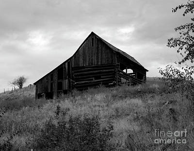 Photograph - Eastern Oregon Barn by Denise Bruchman