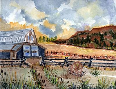 Painting - Eastern Oregon by Connie Valasco