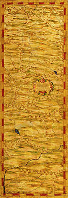 Sphere Painting - Eastern Part Of Pakistan And Afghanistan by Italian painter of the 16th century