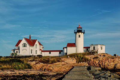 Photograph - Eastern Point Lighthouse by Jean-Pierre Ducondi