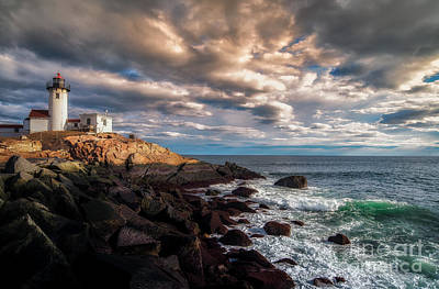 Eastern Point Photograph - Eastern Point Light by Scott Thorp