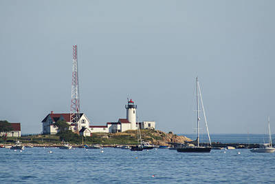 Photograph - Eastern Point Lighthouse 3 by Brian MacLean