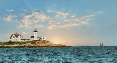 Photograph - Eastern Point Lighthouse by Lori Deiter