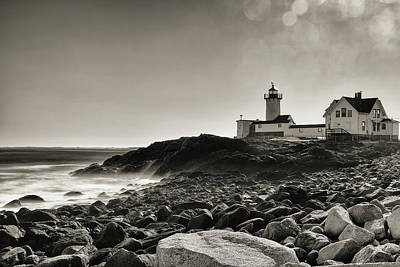 Photograph - Eastern Point Ocean Spray by Brian Hale