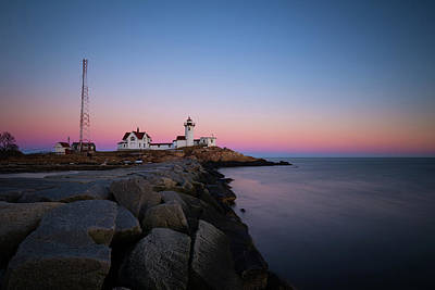 Photograph - Eastern Point Sunset 2 by Brian Hale