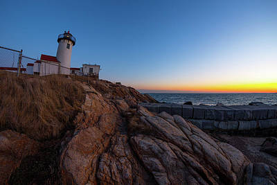 Photograph - Eastern Point Sunset by Brian Hale