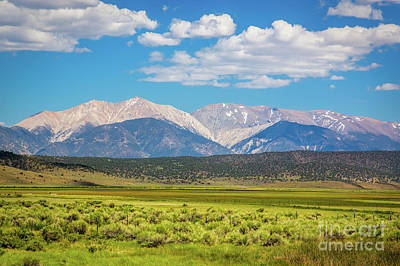 Photograph - Eastern Sierra Nevada Scene by Mimi Ditchie