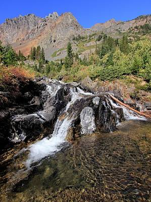 Photograph - Eastern Sierra Oasis by Sean Sarsfield