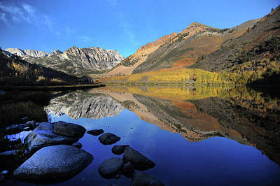 Photograph - Eastern Sierra Reflection by Art Shimamura