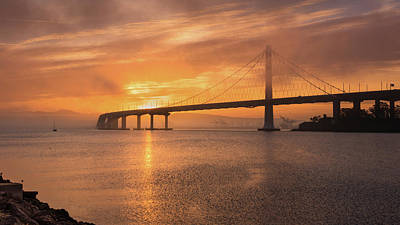 Photograph - Eastern Span Sunrise 2 by Laura Macky