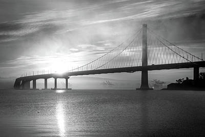 Photograph - Eastern Span Sunrise 3 by Laura Macky