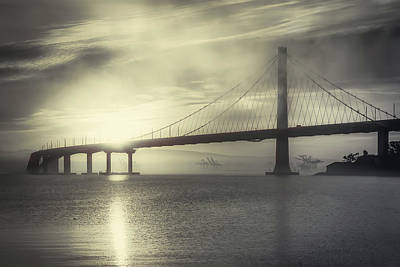 Photograph - Eastern Span Sunrise 4 by Laura Macky