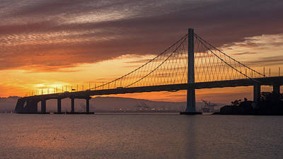Photograph - Eastern Span Sunrise 5 by Laura Macky