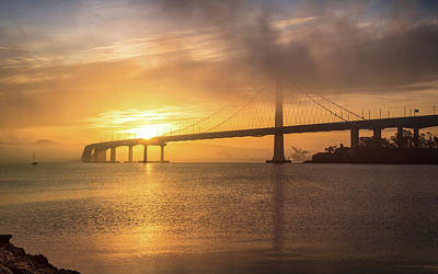 Photograph - Eastern Span Sunrise 6 by Laura Macky