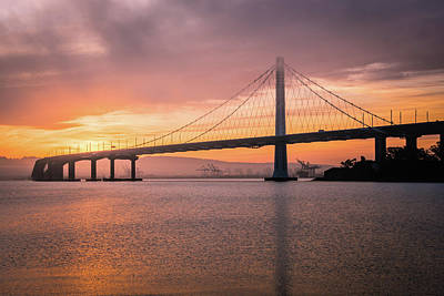 Photograph - Eastern Span Sunrise 7 by Laura Macky