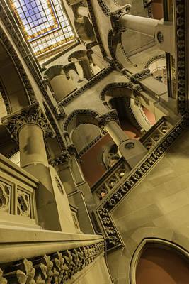 Photograph - Eastern Staircase by Brad Wenskoski