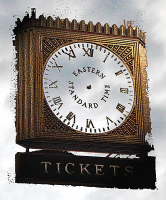 Art Print featuring the photograph Eastern Standard Time by Christopher Woods