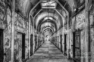 Photograph - Eastern State Penitentiary  by Anthony Sacco