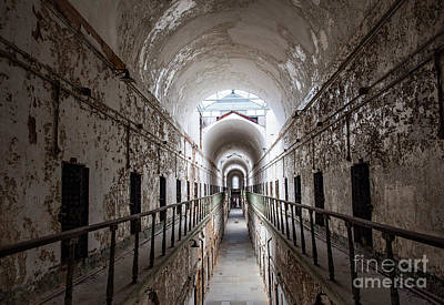 Photograph - Eastern State Penitentiary Cell  by Valerie Morrison