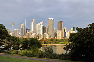 Photograph - Eastern Sydney Skyline by Nicholas Blackwell