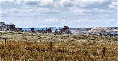 Photograph - Eastern Wyoming Sky by Donald J Gray
