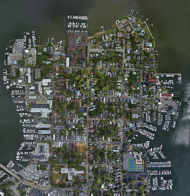 Photograph - Eastport - Annapolis, Md Orthomosaic by Mid Atlantic Aerial