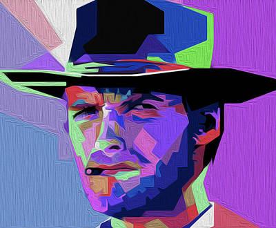 Eastwood 301a By Nixo Art Print by Nicholas Nixo