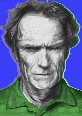 Eastwood 401a By Nixo Art Print by Nicholas Nixo