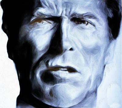 Eastwood #77,nixo Art Print by Nicholas Nixo