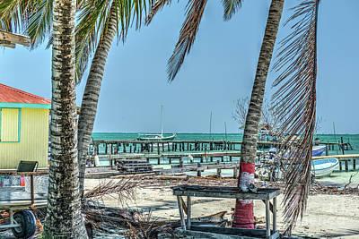Photograph - Easy Day Caye Caulker Belize  by David Zanzinger