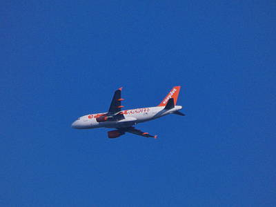 Photograph - Easy Jet by Nik Watt