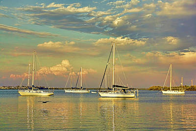 Photograph - Easy Livin' - Florida Seascape by HH Photography of Florida
