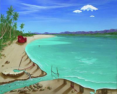 Painting - Easy Living by Sharon Ebert