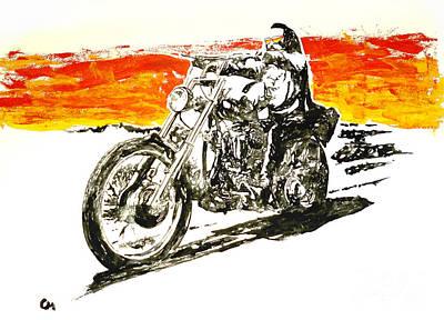 Easy Rider Painting - Easy Rider . by Marat Cherny