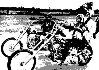 Easy Rider Painting - Easy Rider by Dan Carman