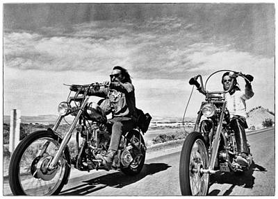 Peter Fonda Photograph - Easy Rider by Hans Wolfgang Muller Leg