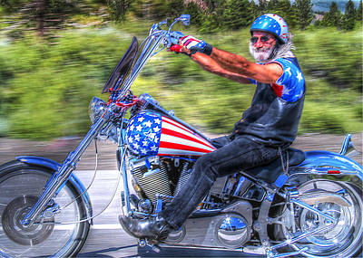 Photograph - Easy Rider  by Joe  Palermo