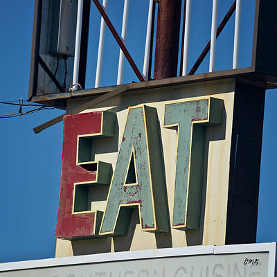 Photograph - Eat by David Gordon