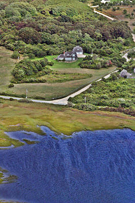 Photograph - Eat Fire Spring Road Polpis Nantucket Island  by Duncan Pearson