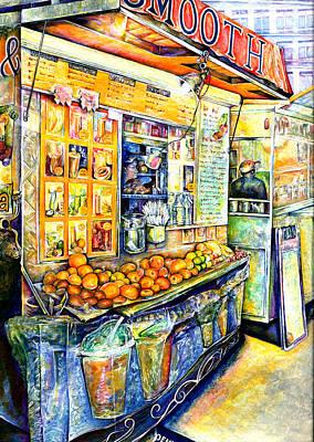 Wall Art - Painting - Eat by Gaye Elise Beda