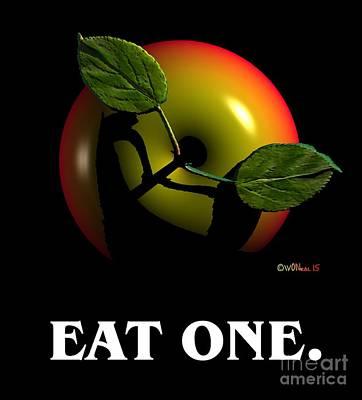Eat One  Art Print
