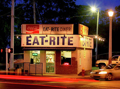 Photograph - Eat Rite Diner St Louis by Garry McMichael