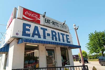 Photograph - Eat-rite Diner by Steve Stuller